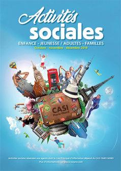 Vos activités sociales d'octobre à décembre 2019